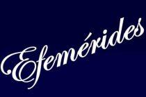 EFEMÉRIDES DEL 25 DE SEPTIEMBRE