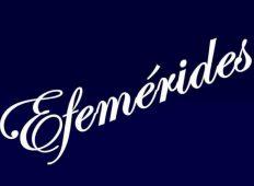 EFEMÉRIDES DEL MES DEL 6 DE ABRIL-