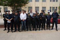 FRENTE AL PALACIO MUNICIPAL SE LLEVÓ A CABO LA PRESENTACIÓN DE LOS POLICÍAS DEL OPERATIVO SOL