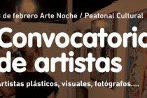 ARTE NOCHE: CONVOCATORIA DE ARTISTAS