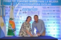 FIRMA DE CONVENIO PARA MEJORAR LA INFRAESTRUCTURA ESCOLAR