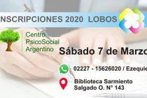 EL FUTURO LLEGÓ…CENTRO PSICOSOCIAL ARGENTINO – SEDE LOBOS / CICLO LECTIVO 2020