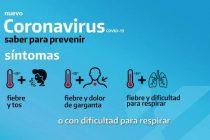 CORONAVIRUS: INFORMACIÓN Y MEDIDAS DE PREVENCIÓN DEL MINISTERIO DE SALUD DE LA NACIÓN