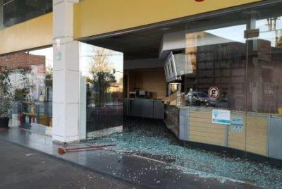 ACCIDENTE EN LA ESTACIÓN DE SERVICIO GNC DE CHACABUCO Y MASTROPIETRO