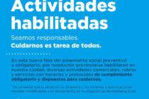 FASE 4: ACTIVIDADES HABILITADAS EN LOBOS AL 19 DE MAYO DE 2020