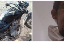 UN MOTOCICLISTA IMPACTÓ CONTRA UNA TRANQUERA EN UN ACCESO CERRADO, ESTÁ INTERNADO EN LA GUARDIA DEL HOSPITAL