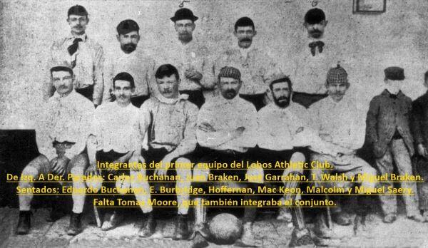 HOY 3 DE JULIO EL LOBOS ATHLETIC CLUB CUMPLE 128 AÑOS DE VIDA