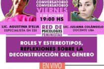 CONVERSATORIO SOBRE ROLES Y ESTEREOTIPOS