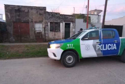 INTENTARON TOMAR UNA VIVIENDA, LA POLICIA LO DESBARATO