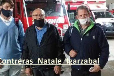 VECINOS DE EMPALME LOBOS PRESENTARON UNA INICIATIVA PARA CREAR UN DESTACAMENTO DE BOMBEROS