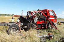 ESTADO DE SALUD DE LOS CINCO BOMBEROS ACCIDENTADOS ESTA TARDE