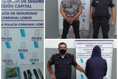 LA POLICIA COMUNAL DE LOBOS DIO A CONOCER VARIOS HECHOS DELICTIVOS LLEVADOS A CABO EN LA CIUDAD