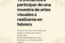 EL FOTO CLUB LOBOS TE INVITA A PARTICIPAR EN UNA MUESTRA DE ARTES VISUALES