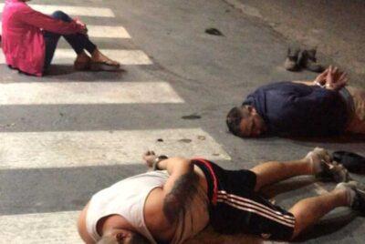 MEDIANTE EXTENSO PARTE DE PRENSA, LA POLICÍA DIO A CONOCER COMO DESBARATÓ UNA BANDA DE LADRONES