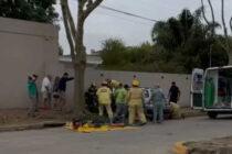 ACCIDENTE DE TRÁNSITO EN AV. YRIGOYEN