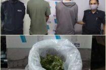LA POLICÍA DE EMPALME LOBOS DETUVO A DOS PERSONAS POR TRANSPORTAR DROGAS