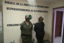 POLICÍA DEL COMANDO RURAL PROCEDIÓ A DISOLVER UN ROBO DE POLLOS EN UNA GRANJA, UNA MUJER FUE DETENIDA Y DOS HOMBRES SE DIERON A LA FUGA