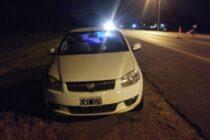 OPERATIVO POLICIAL EN LA 205: INTERCEPTARON UN AUTO CON PEDIDO DE SECUESTRO