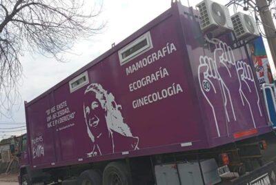 LLEGA A LOBOS EL LUNES EL CAMION SANITARIO DEL MOVIMIENTO EVITA