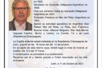 FALLECIO EN ESPAÑA EL HERMANO AMPUDIA, RECORDADO RECTOR DEL COMERCIAL