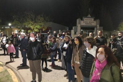 DIA DE LOS DERECHOS HUMANOS EN LOBOS, RECORDARON A PATO LACOSTE